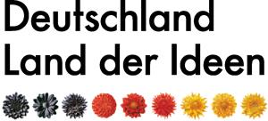 Deutschland Land der Ideen, schwarz rot gold